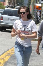KRISTEN STEWART Out and About in Los Angeles 06/06/2015