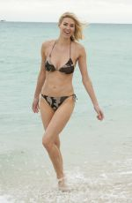KRISTEN TAEKMAN in Bikini at a Beach in Boca Raton 06/03/2015