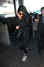 KYLIE JENNER Arrives at Los Angeles International Airport 06/22/2015