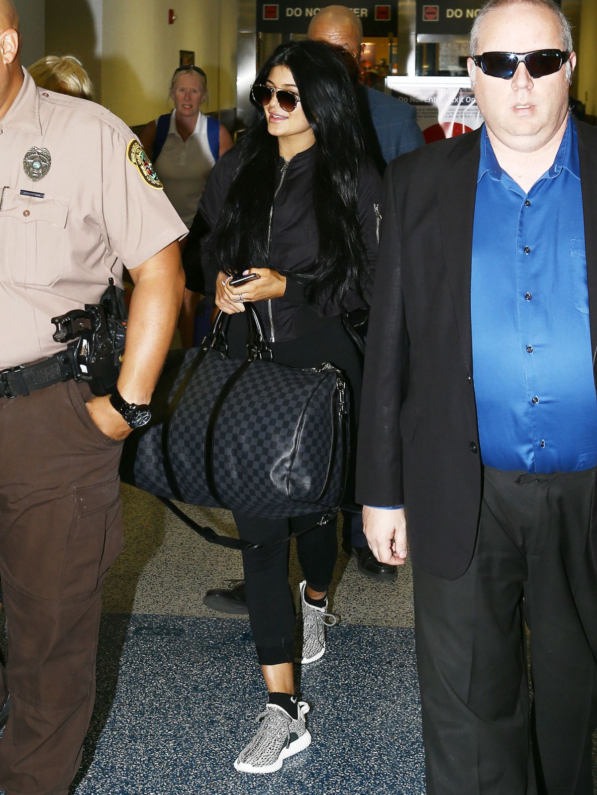 KYLIE JENNER Arrives at Miami International Airport 06/19/2015