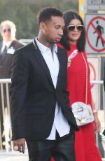 KYLIE JENNER Arrives at Regal Cinemas in Los Angeles 06/08/2015