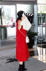 KYLIE JENNER Arrivs at JW Marriott Los Angeles Hotel in Los Angeles 06/08/2015