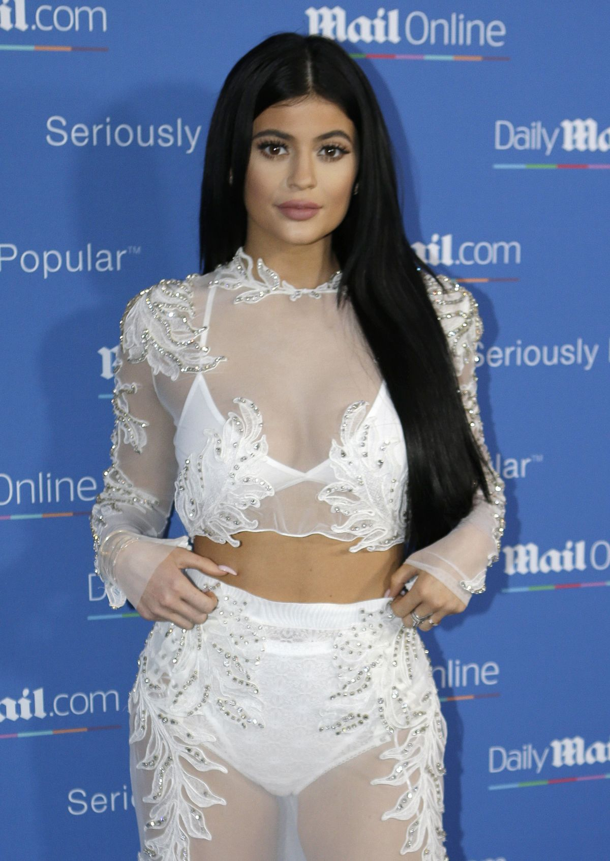 KYLIE JENNER at dailymail.com Seriously Popular Yacht Party in Cannes