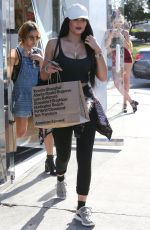 KYLIE JENNER in Tights Out and About in Beverly Hills 06/20/2015