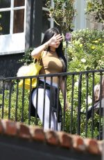KYLIE JENNER Leaves a Friend in Bevrly Hills 06/28/2015