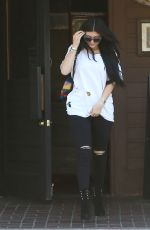 KYLIE JENNER Leaves Yamato Japanese Restaurant in Agoura Hills 06/18/2015