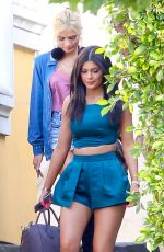 KYLIE JENNER Out and About in Calabasas 05/31/2015