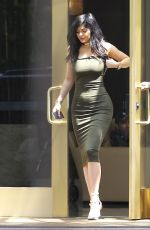 KYLIE JENNER Out and About in Los Angeles 06/01/2015