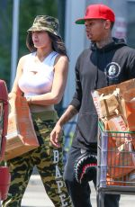 KYLIE JENNER Out for Grocery Shopping in Calabasas 06/10/2015