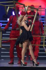KYLIE MINOGUE Performs at British Summer Time Festival in London