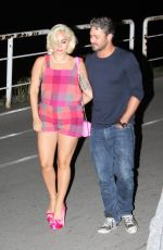 LADY GAGA and Taylor Kinney in Belgrade 06/02/2015