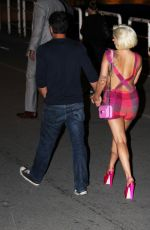 LADY GAGA and Taylor Kinney Night Out in Belgrade 06/02/2015