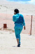 LADY GAGA at a Beach in Malibu 05/20/2015