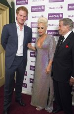 LADY GAGA at Aid of Wellchild Concert at Royal Albert Hall