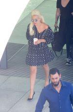 LADY GAGA at Heathrow Airport in London 06/07/2015