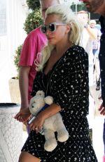 LADY GAGA at Nikola Tesla Airport in Belgrade 06/07/2015