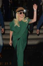 LADY GAGA Leaves Her Hotel in London 06/07/2015