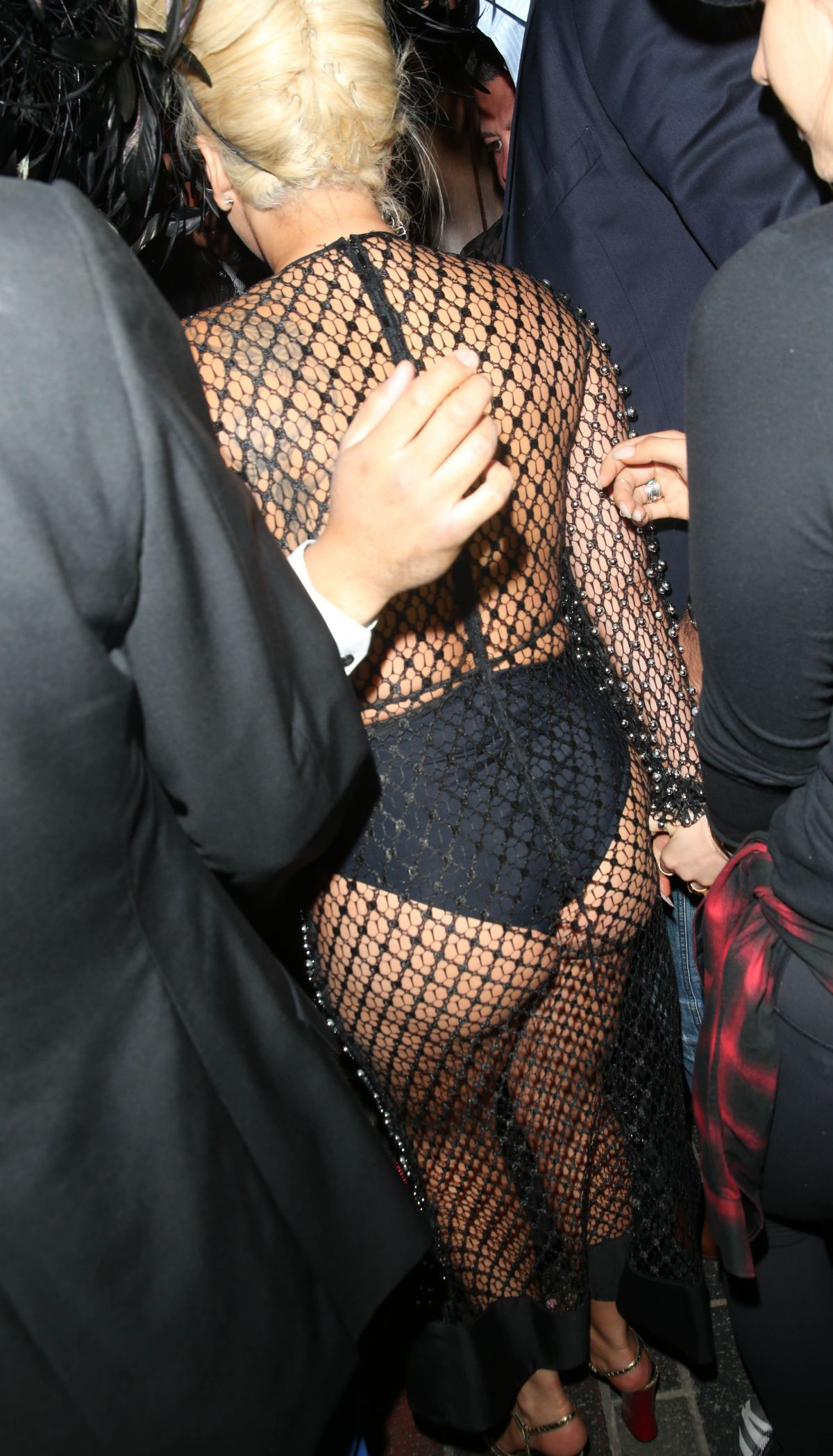 LADY GAGA Night Out in London 06/08/2015