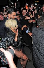 LADY GAGA Night Out in London 06/09/2015