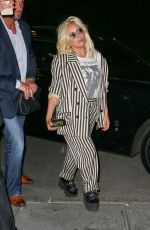 LADY GAGA Night Out in New York 06/18/2015