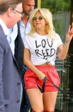 LADY GAGA Out and About in New York 06/19/2015