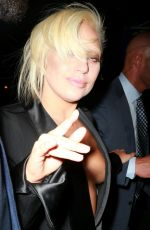 LADY GAGA Out and About in New York 06/24/2015