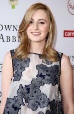 LAURA CARMICHAEL at An Afternoon with Downton Abbey Talent Panek in Beverky Hills
