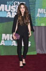 LAURA MARANO at 2015 CMT Music Awards in Nashville