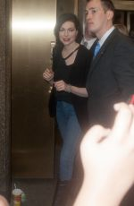 LAURA PREPON Leave Late Night with Seth Meyers 06/15/2015