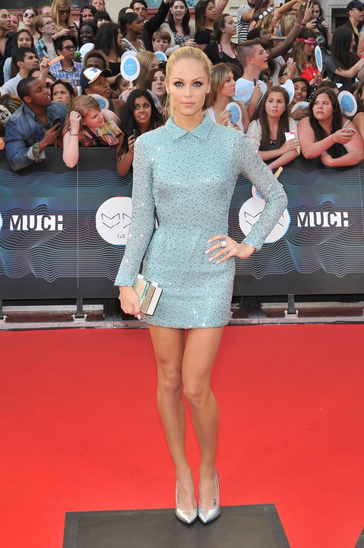 LAURA VANDERVOORT at 2015 MuchMusic Video Awards in Toronto