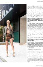 LAURA VANDERVOORT in Ajoure Magazin, July 2015 Issue