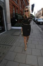 LAURA WHITMORE Arrives at Williams Vintage Summer Party in London