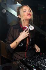 LAURA WHITMORE at Boujis Nightclub in London 06/04/2015