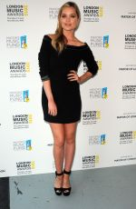 LAURA WHITMORE at London Music Awards in London