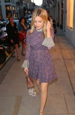 LAURA WHITMORE at Louis Vuitton Launch Party in London