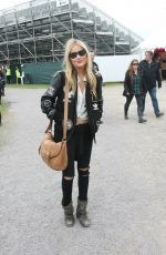 LAURA WHITMORE at Slane Castle Festival in Ireland