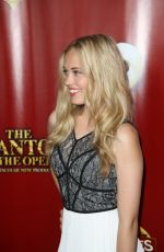 LAUREN TAYLOR at The Phantom of the Opera Opening Night in Hollywood