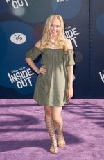 LAUREN TAYLOR t Inside Out Premiere in Hollywood