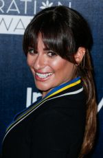 LEA MICHELE at Step Up Women's Inspiration Awards in Beverly Hills