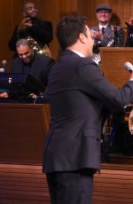 LENA DUNHAM at The Tonight Show With Jimmy Fallon 06/12/2015