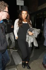 LEONA LEWIS Out for Dinner in Liverpool 06/03/2045