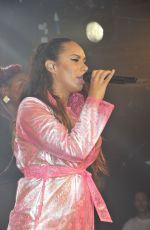 LEONA LEWIS Performs at G.A.Y Nightclub in London 06/13/2015