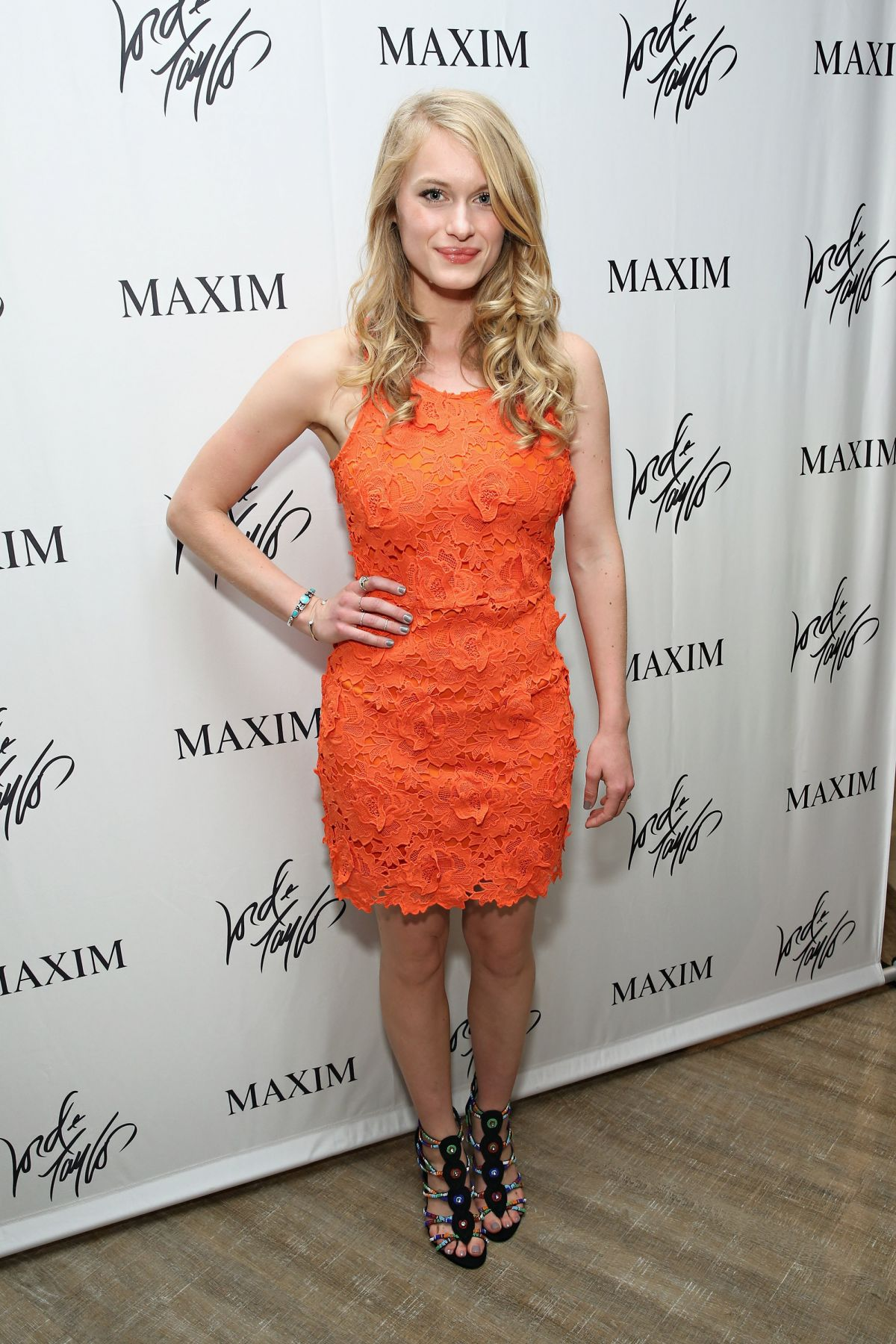 9a8724077b2 LEVEN RAMBIN at Lord   Taylor Suddenly Summer Jam in New York ...