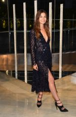 LILY ALDRIDGE at CFDA Fashion Awards 2015 in New York