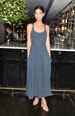 LILY ALDRIDGE at Refinery29, cfda & Neiman Marcus Celebrate Tabitha Simmons in New York