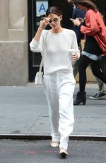 LILY ALDRIDGE Out and About in New York 06/01/2015