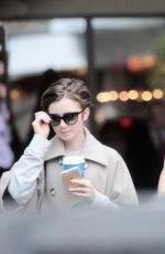 LILY COLLINS and Jamie Campbell Bower Out and About in London 06/25/2015