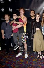 LILY COLLINS at Fast Times at Ridgemont High Live Read at LA Film Festival