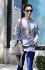 LILY COLLINS Leaves CVS Pharmacy in Los Angeles 06/16/2015