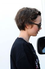 LILY COLLINS Out and About in Los Angeles 06/02/2015